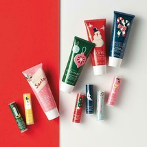 Avon 10pc Holiday Hand Cream & Lip Balms  with Care Deeply included - $24.75