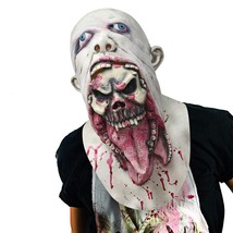 Monstleo Halloween Mask Scary Bleeding Zombie Horror face mask for Adults - £11.49 GBP+