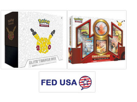 Pokemon TCG Generations Elite Trainer Box + Charizard EX Red and Blue Co... - $159.99