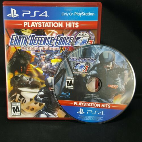 Earth Defense Force 4.1: The Shadow of New Despair (Sony PlayStation 4) PS4
