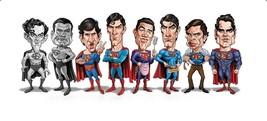 Tom Richmond SIGNED Superman Mad Magazine Art Print George Reeves Christ... - $59.39