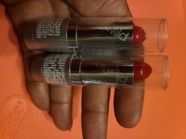 2 WET N WILD Silk Finish Lipstick (#519A - Hot Red) *NEW SEALED* - $6.88