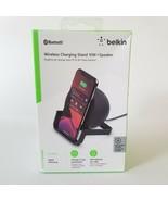 Belkin Wireless Charging Speaker Wireless Charging Stand Bluetooth Speak... - $51.23