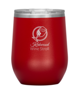 Kirkwood Wine Stroll Vacuum Insulated Stainless Steel Wine Tumbler 12 Ounce - $29.99