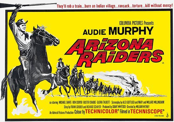 Primary image for Arizona Raiders - 1965 - Movie Poster