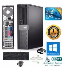 Dell OptiPlex PC COMPUTER DESKTOP 240gb SSD Intel 3.00Ghz 4GB WINDOW 10 ... - $243.09
