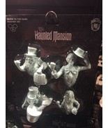 disney parks magnet set haunted mansion glow in the dark ghosts new with... - $25.54