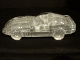 Hofbauer Crystal 1986 Corvette Paperweight/Display Piece  - $15.00