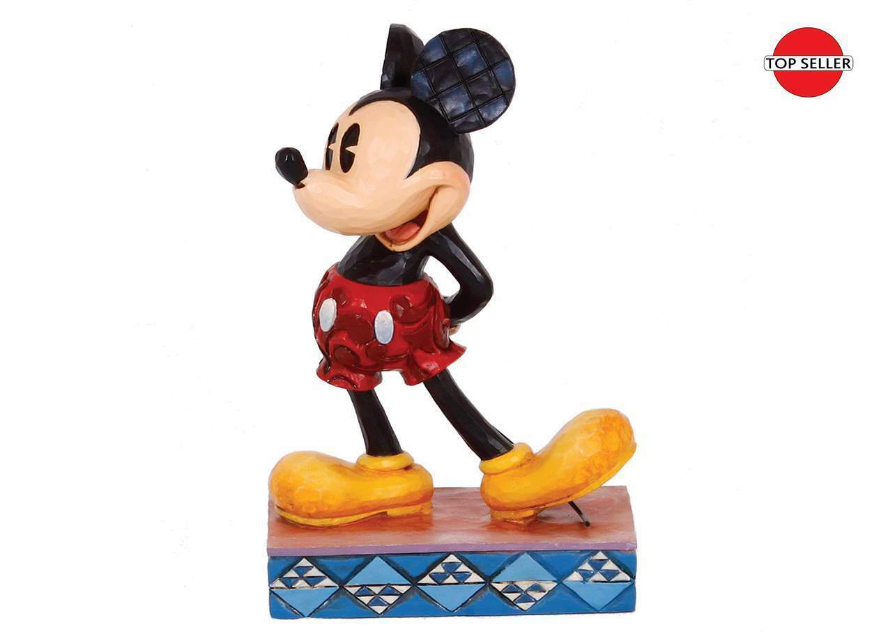 "4.875"" ""The Original"" Mickey Mouse Figurine - Jim Shore Disney Traditions"