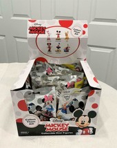 12 Blind Sealed Bags + Box MICKEY MOUSE Collectible Mini Figures Series 1 - $59.39