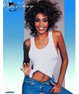 Whitney Houston 20 x  26 1986 Reproduction Record Store Poster - Music C... - $38.00