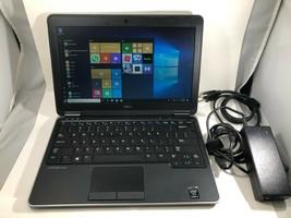 """DELL Latitude E7240 12"""" Intel i5 128GB SSD 8GB Windows 10 Pro Laptop MS ... - $298.95"""
