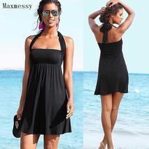 Maxmessy Swimming Wrap Chest Cover Ups Beach Dress Skirt Holiday Bikini ... - $39.99