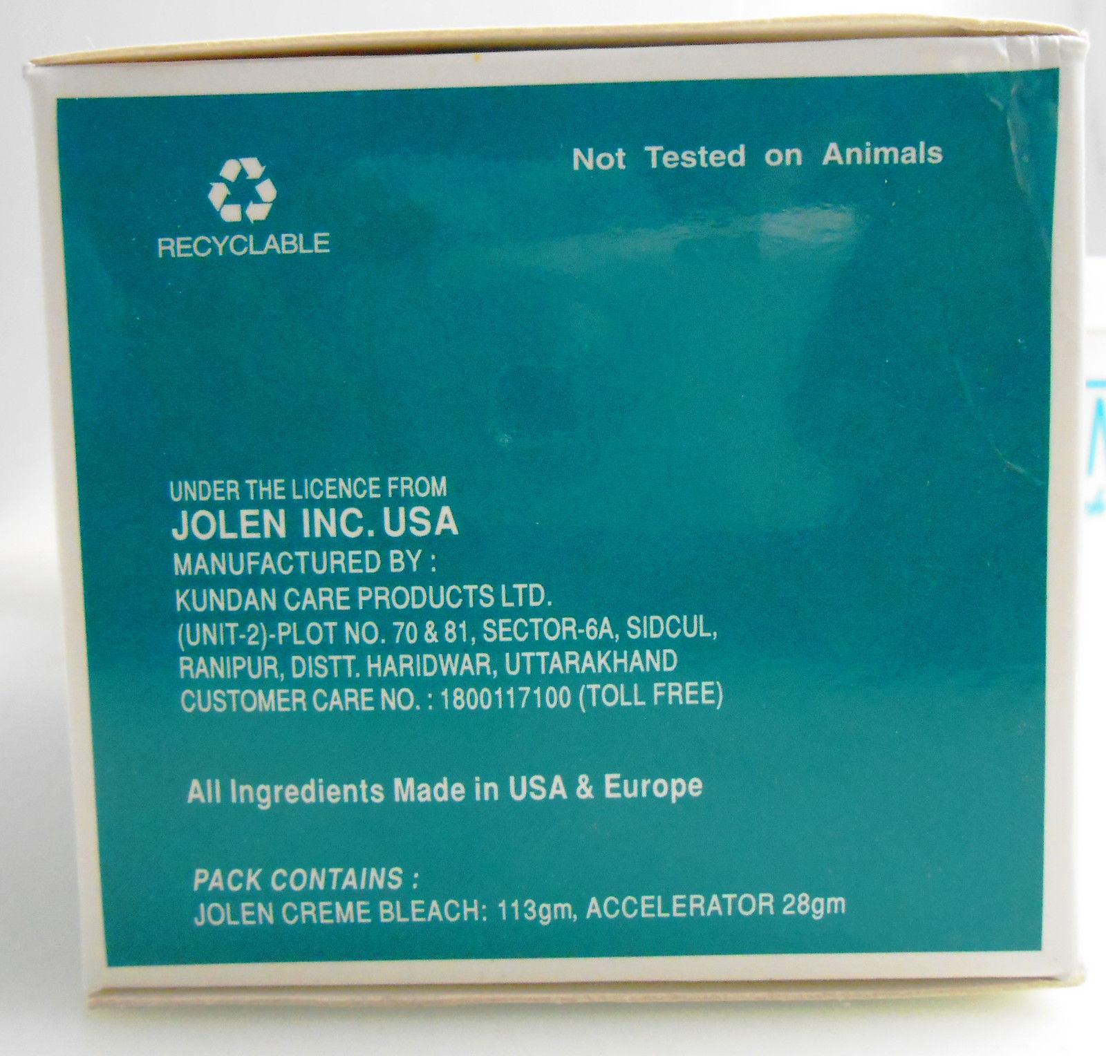 Jolen 5oz Creme Skin Bleach 113gm + 28g Accelerator USA SELLER FAST SHIPPING