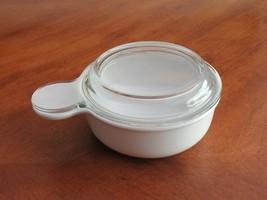 Corning Ware White 15oz Grab-It Bowl with Pyrex Glass Lid P-150-B + P-150-C - $12.99