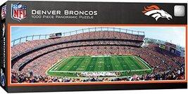 MasterPieces NFL Denver Broncos Stadium Panoramic Jigsaw Puzzle, 1000 Pi... - $15.80