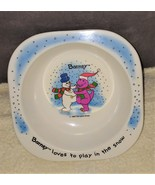 Barney Loves to Play in the Snow Cereal Bowl from 1993 #01355 - $9.96