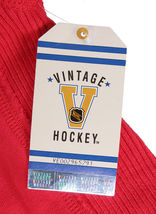 Mitchell & Ness Damen Distressed Vintage Detroit Hockey Rot Flügel Kapuze Groß image 6