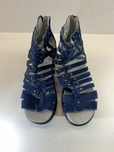 Jambu Sugar Too Blue Strappy Sandals Women's 7.5 M - $46.71