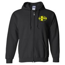 Mossberg Yellow Logo Zip Up Hoodie Sweatshirt Pro Gun 2nd Amendment Shot... - $28.79