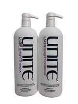 Unite Lazer Straight Daily Smoothing Shampoo & Conditioner Set 33.8 OZ Each - $157.76