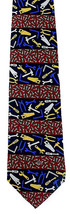All Screwed Up Mens Necktie Silk Vicky Davis Home Improvement Tool Red N... - $19.75