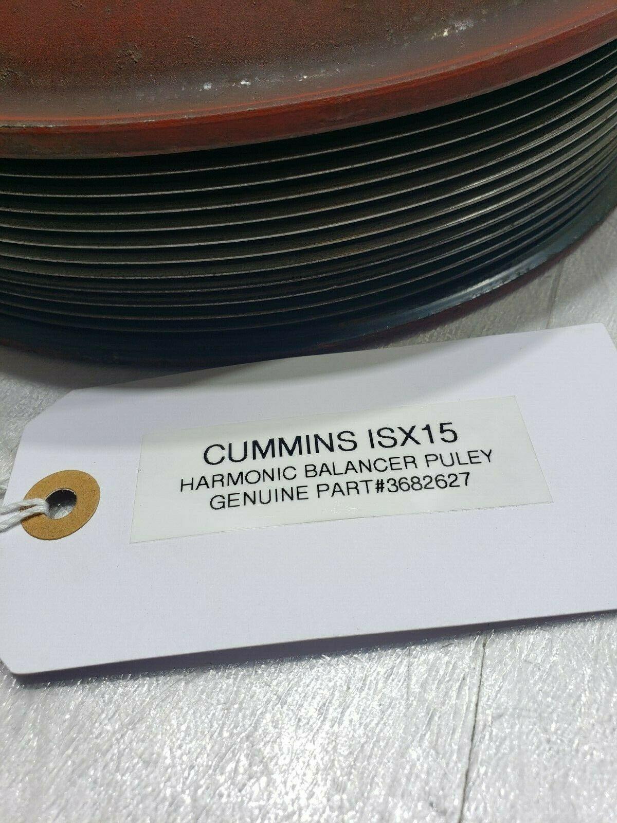 HARMONIC BALANCER Cummins ISX15 Pulley 3682627 OEM image 6