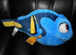 "14 "" Disney Magasin Finding Nemo Dory Bleu Fille Poisson Animal en Peluche 3181 - $18.50"