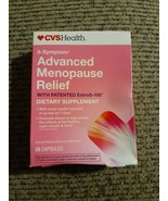 CVS Health 8-Symptom Advanced Menopause Relief 28 Capsules 01/2020 NIB - $12.66