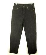 VTG Levi's Men's 550 Black Denim Tapered Relaxed Jeans Size 33x32 - $49.50