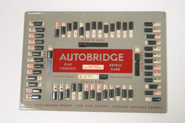 Vintage 1959 Auto Bridge Play-Yourself Bridge Card Game Machine In Origi... - $24.74