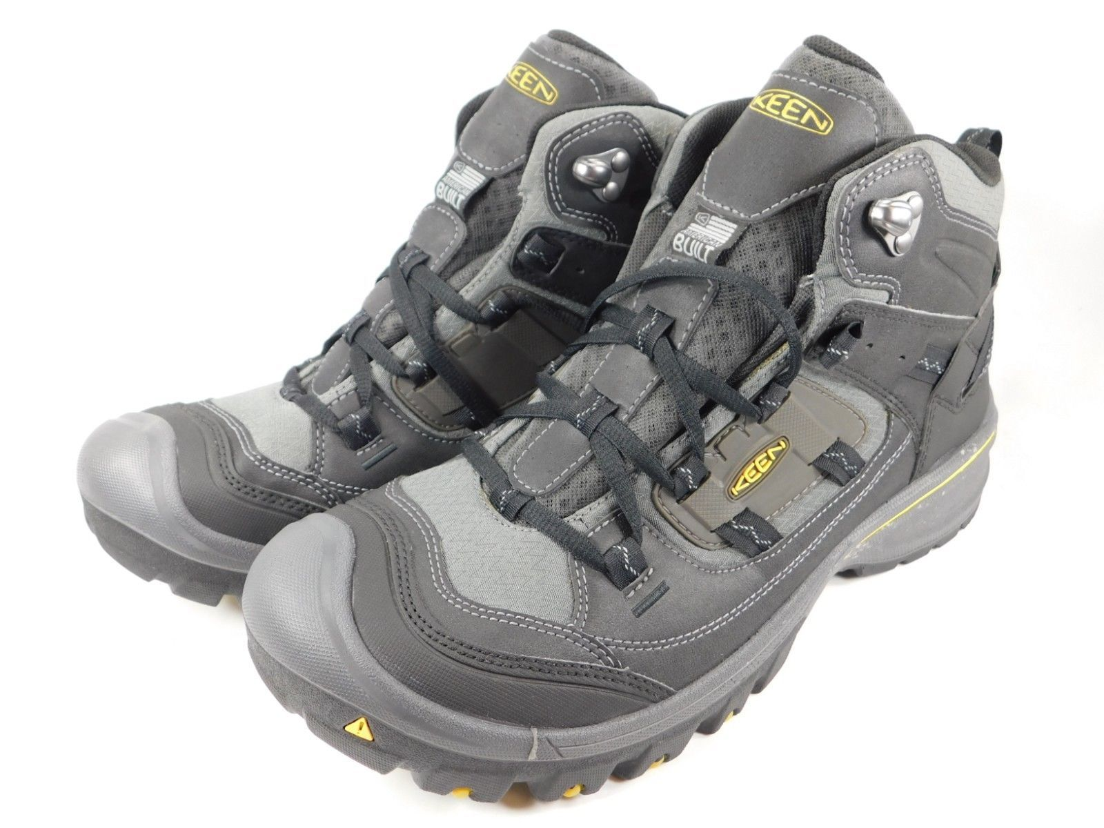 Keen Logan Mid Top Size: US 11.5 M (D) EU 45 Men's Hiking Boots Black 1014004