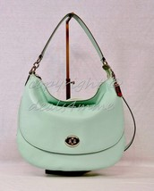 NWT! Coach 36762 Pebbled Turnlock Hobo/Crossbod... - $199.00