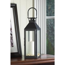 Black Manhattan Candle Lantern - $26.00