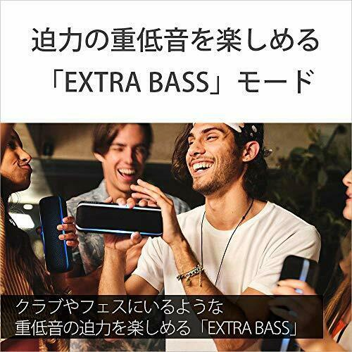 Sony SRS-XB22 Wireless Portable Speaker 2019 w/Tracking# Japan New