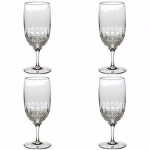 Waterford Crystal Colleen Essence Iced Beverage Tea Glasses Four (4) New... - $470.25