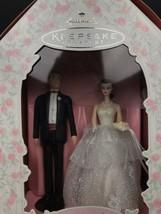 NIB Vintage Mattel Hallmark Barbie And Ken Wedding Day Keepsake Ornament - $28.05
