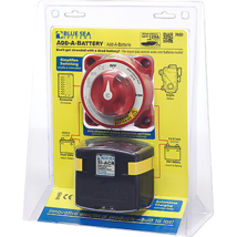 Blue Sea Systems Add-A-Battery Kit w/ACR, 120A, Display - $160.43