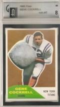1960 Fleer #56 Gene Cockrell GAI 8 NM MT - $29.64
