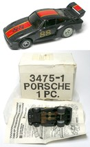 1979 Ideal TCR MK 2 Porsche Turbo Rare #88 Black & Red Slot Less Car 3475-1 MIB - $64.34