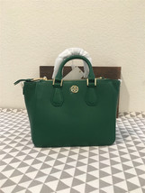 Tory Burch Landon Mini Square tote Leather Shoulder Bag 34006 - $279.52