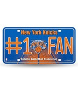 NBA New York Knicks Bling #1 Fan Metal License Plate Tag - $10.95