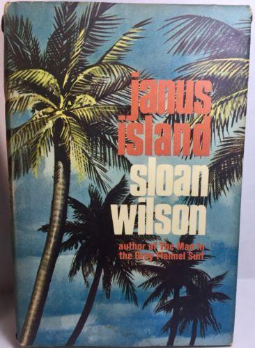 Sloan Wilson Book Lot 2 Janus Island Away From It All 1960's Hardcover DJ  image 2