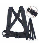 Harness Fitness Adjustable Sled Weight Vest Workout Speed Trainer With P... - $26.57