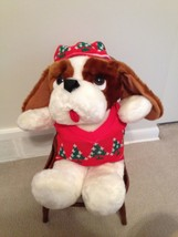 Crowley's Holly Hound Plush RARE - $18.69