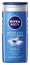 Nivea For Men Vitality Fresh Shower Gel - 250 ML  - $11.63