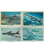 "Set of 4 - 12"" X 16"" Unframed Airplane Prints.  (B-17, B-47, B-52, and F... - $29.65"