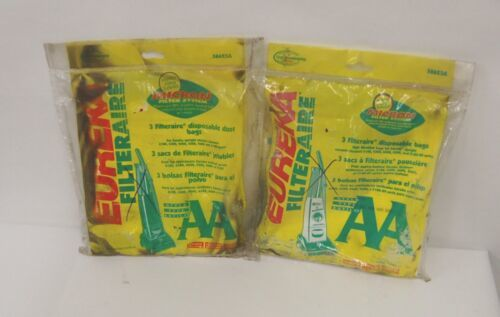 Eureka Filteraire 58623A Disposable Bags Style AA Micron Filter System 2 Package