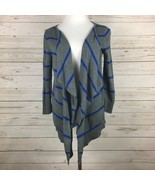 American Eagle Outfitters Cardigan Sweater Women's Size Medium Striped G... - $19.99