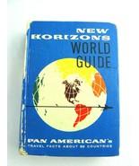 1960-1962 New Horizons World Guide Pan Am World Airways - $12.82